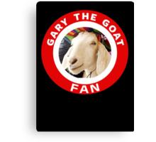 Gary The Goat (Fan) Canvas Print