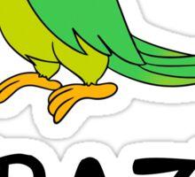 Crazy Bird Lady Sticker