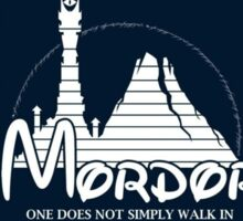 Parody mordor Sticker