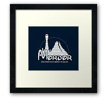 Parody mordor Framed Print