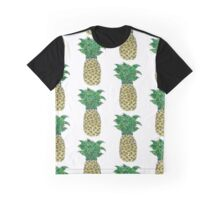 Pineapple Drawing Graphic T-Shirt