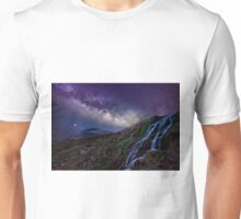 The creek and the milky way Unisex T-Shirt