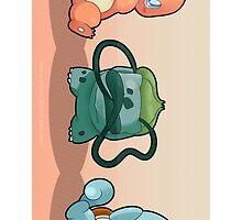 Pokemon - Starters by SeviYummy