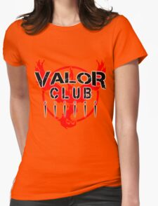 valor club kitsap Womens Fitted T-Shirt