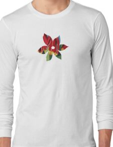 Red & Yellow Tulips Long Sleeve T-Shirt