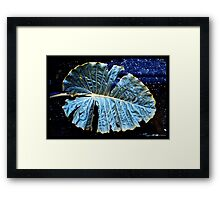 Pure Thomacheat #13. BLUES Framed Print