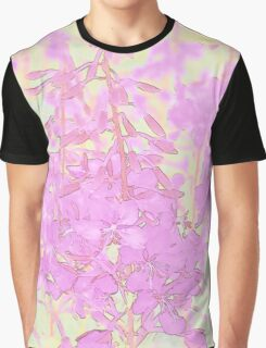 Pastel Fireweed Graphic T-Shirt
