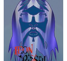 Leon Russell Rock & Roll Hall of Fame Commemorative Artwork by L. R. Emerson II by L R Emerson II