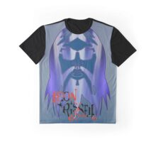 Leon Russell Rock & Roll Hall of Fame Commemorative Artwork by L. R. Emerson II Graphic T-Shirt