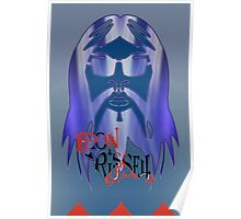 Leon Russell Rock & Roll Hall of Fame Commemorative Artwork by L. R. Emerson II Poster