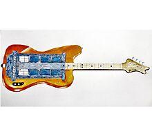 Bass Guitardis Photographic Print