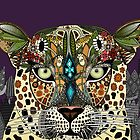 leopard queen (card) by Sharon Turner