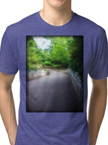 The Road is Long Tri-blend T-Shirt