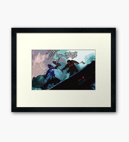 Wyrmstooth Framed Print