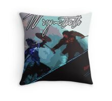 Wyrmstooth Throw Pillow