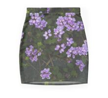 Purple Confetti Mini Skirt