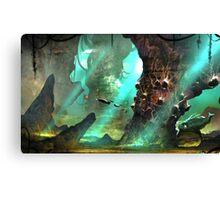 underwater journey  Canvas Print