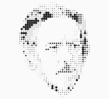 Alan Watts Pixelated One Piece - Short Sleeve