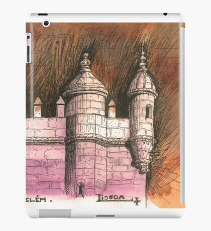 Belém tower iPad Case/Skin