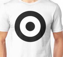 Black & White Mod Target Unisex T-Shirt