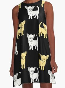 Chihuahua double A-Line Dress