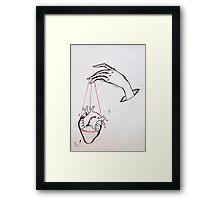 The Handler #2 (Muse) Framed Print