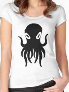 Black Octopus Women's Fitted Scoop T-Shirt