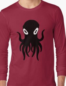 Black Octopus Long Sleeve T-Shirt