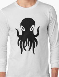 Black Octopus Long Sleeve T-Shirt