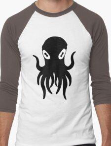 Black Octopus Men's Baseball ¾ T-Shirt