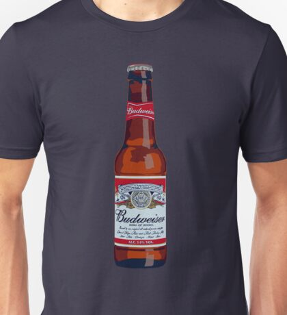 Budweiser Bottle Unisex T-Shirt
