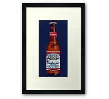 Budweiser Bottle Framed Print