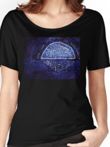 Blue Moonrise original painting Women's Relaxed Fit T-Shirt