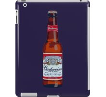 Budweiser Bottle iPad Case/Skin