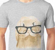 Bunny wearing glasses Unisex T-Shirt