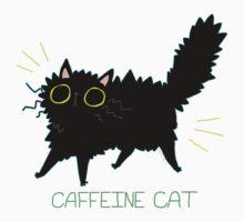 Caffeine Cat Baby Tee