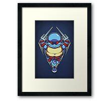 Ninja Squirtle - Print Framed Print