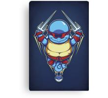 Ninja Squirtle - Print Canvas Print