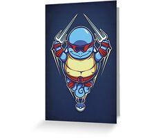 Ninja Squirtle - Print Greeting Card