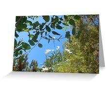 nature in the sky Greeting Card