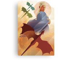 Vintage style Daenerys Targaryen Canvas Print