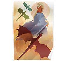Vintage style Daenerys Targaryen Poster