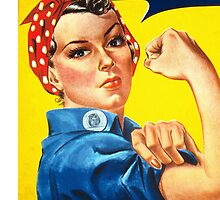 Rosie the Riveter by katherinehayes
