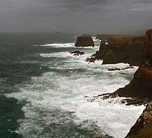 Stormy Eshaness by WatscapePhoto