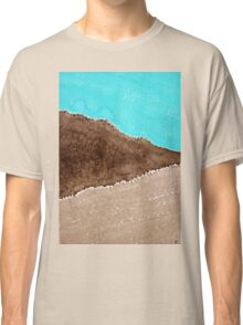 Desert Mountains original painting Classic T-Shirt