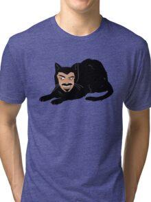 Vlad the Cat (Gray) Tri-blend T-Shirt