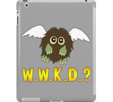 What Would Kuriboh Do? (W.W.K.D.?) iPad Case/Skin