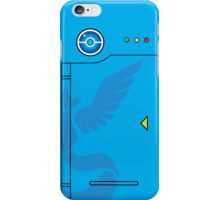 Team Mystic Themed Pokedex Phone Case iPhone Case/Skin