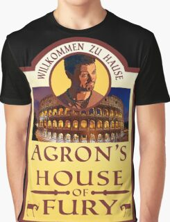 Agron's House of Fury (Spartacus) Graphic T-Shirt