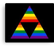 Rainbow force Canvas Print
